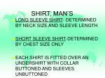 shirt man s