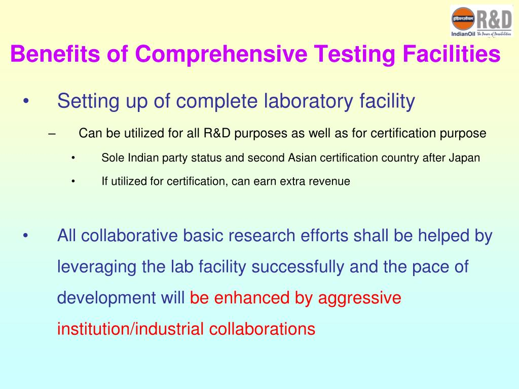 Benefits of Comprehensive Testing Facilities