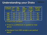 understanding your disks