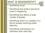 what is newsworthy7