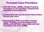 prenatal care providers