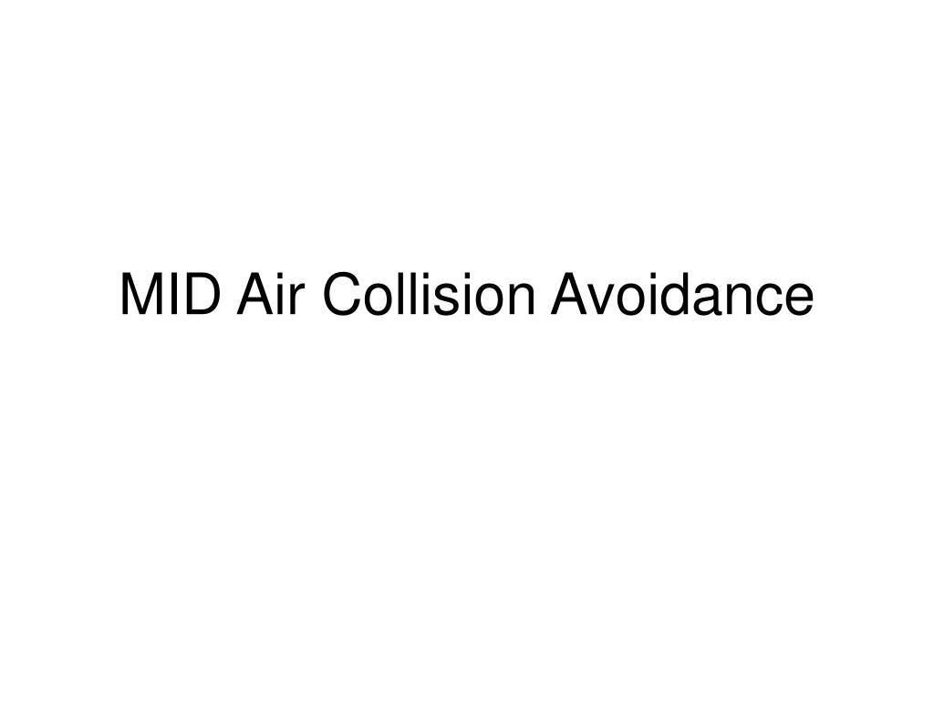 mid air collision avoidance l.