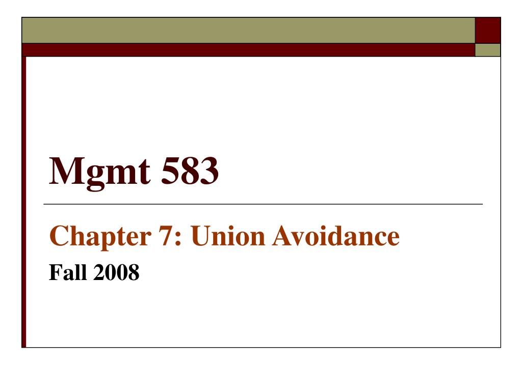 mgmt 583 l.