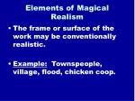 elements of magical realism10