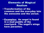 elements of magical realism8