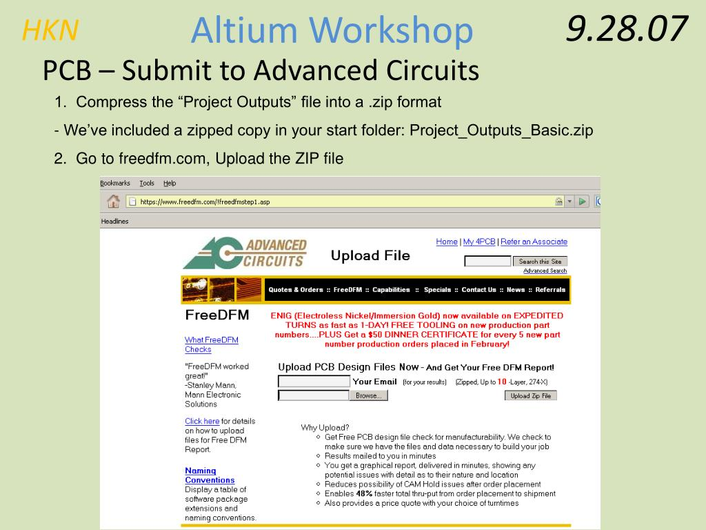 PPT - Basic Altium Workshop PowerPoint Presentation - ID:182291