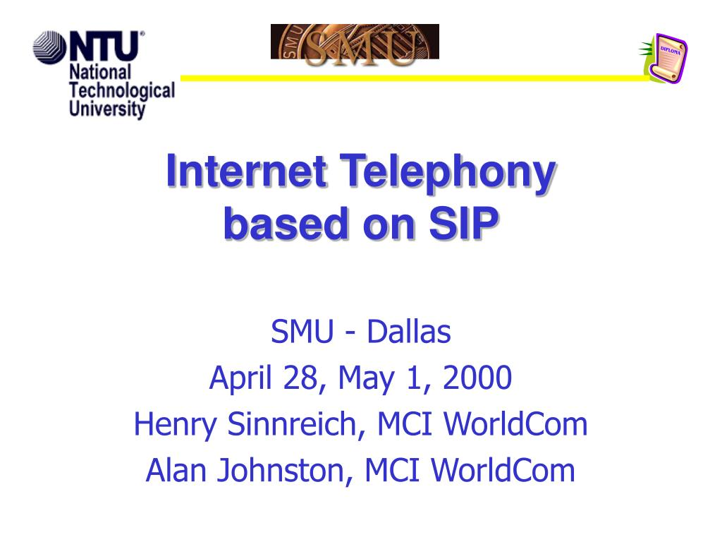 internet telephony based on sip l.