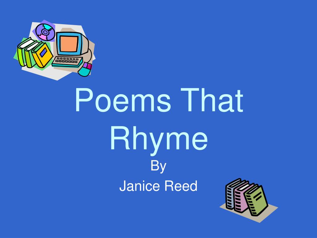 poems that rhyme l.