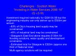 challenges scottish water investing in water services 2006 14 q s iii