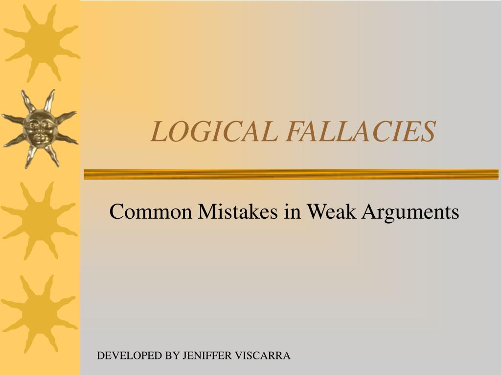 logical fallacies l.