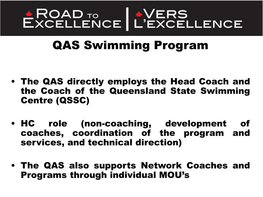QAS Swimming Program