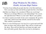 hopi wisdom by the elders oraibi arizona hopi nation