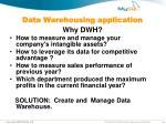 data warehousing application8