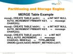 partitioning and storage engine18