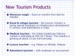 new tourism products