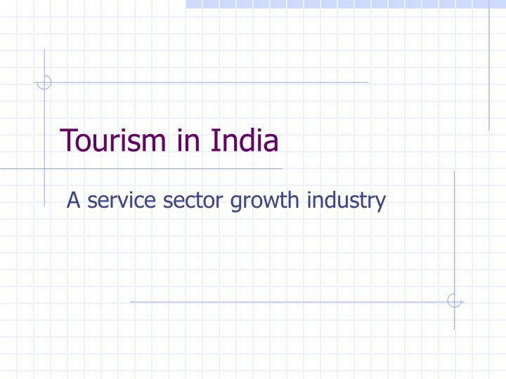 tourism in india n.