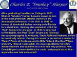 charles e smokey harper