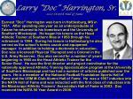 larry doc harrington sr