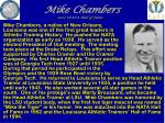 mike chambers