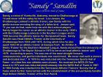 sandy sandlin