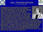 sue stanley green