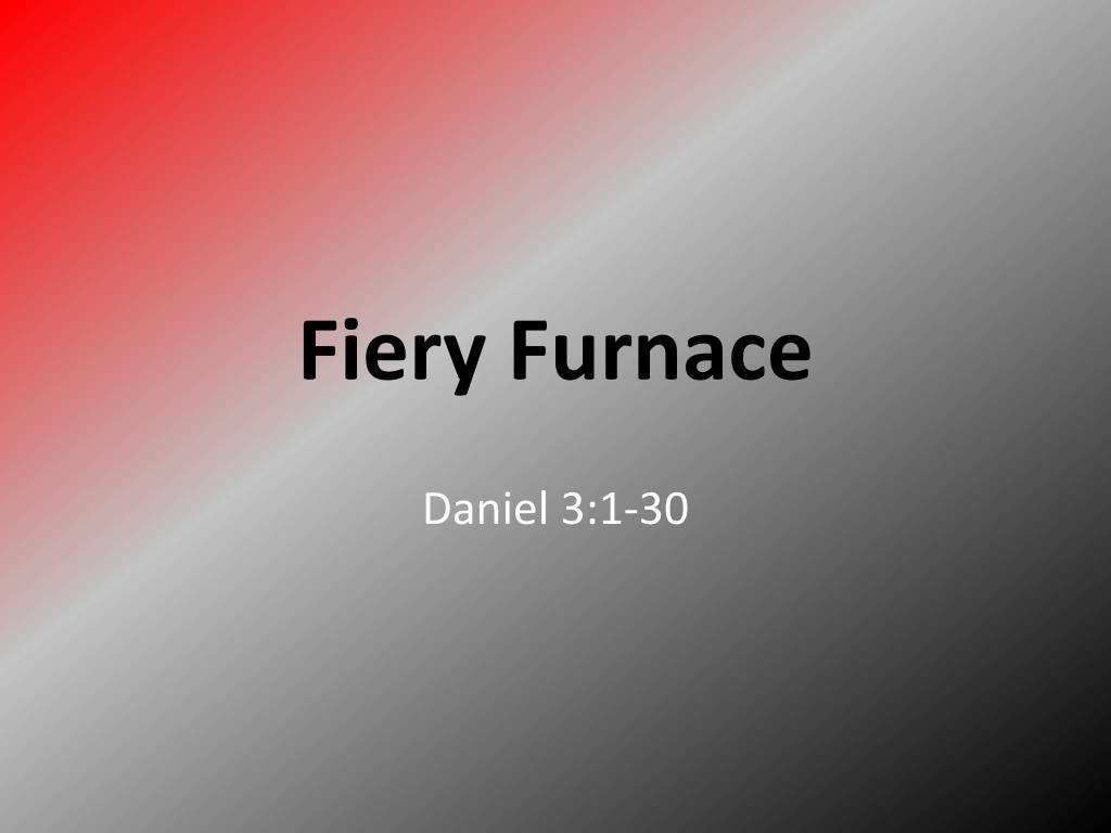 fiery furnace l.