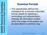 common format