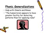 phonic generalizations4