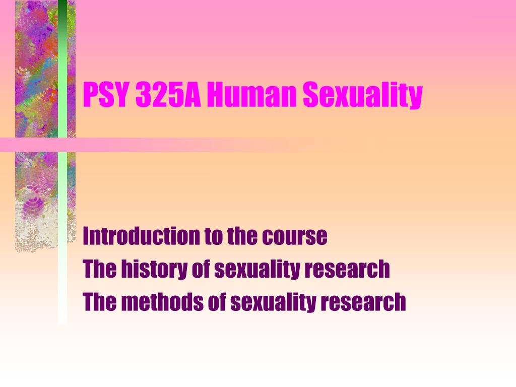 psy 325a human sexuality l.