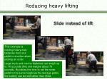 reducing heavy lifting15