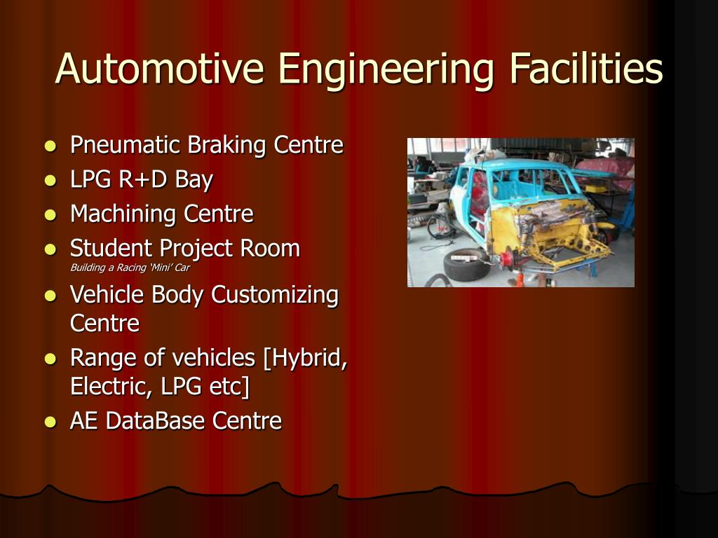 Automotive Engineering Facilities