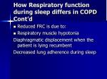 how respiratory function during sleep differs in copd cont d9