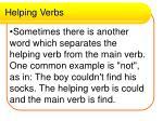 helping verbs16