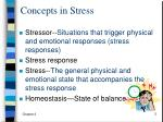 concepts in stress