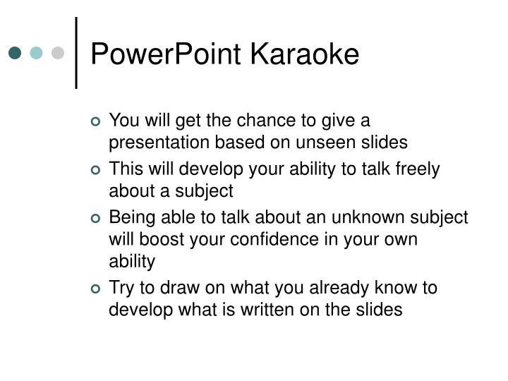 Powerpoint karaoke2