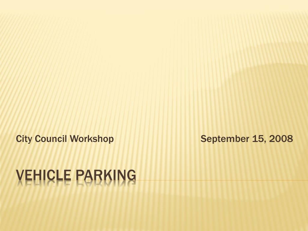 city council workshop september 15 2008 l.