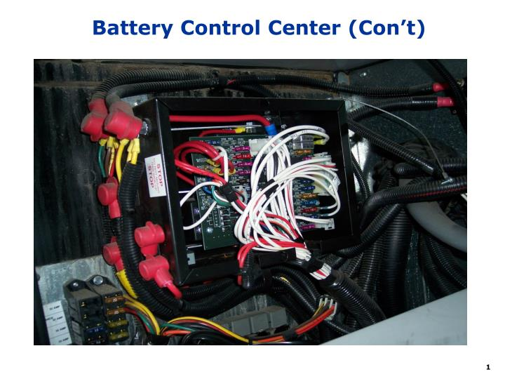 battery control center con t n.