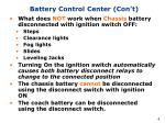battery control center con t4