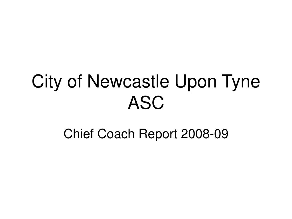 city of newcastle upon tyne asc l.