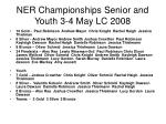 ner championships senior and youth 3 4 may lc 2008