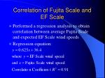 correlation of fujita scale and ef scale29