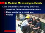 6 medical monitoring in rehab52