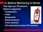 6 medical monitoring in rehab53