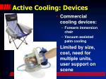 active cooling devices
