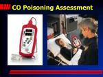 co poisoning assessment66