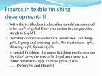 figures in textile finishing development ii