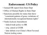 enforcement us policy