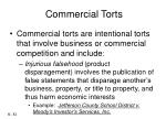 commercial torts