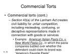 commercial torts34