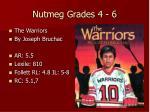 nutmeg grades 4 611